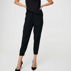 Aritzia babaton dexter pants in black, sz 4